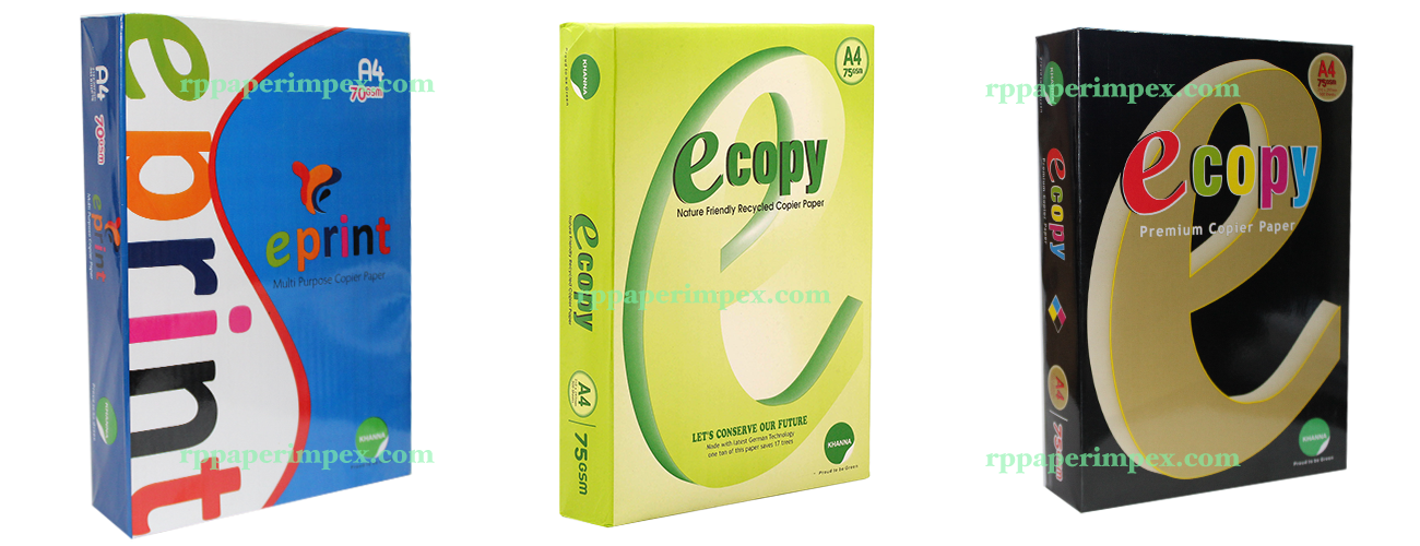 Khanna Ecopy EPrint Copy Paper A4 Copier Dealer Supplier Wholeseller