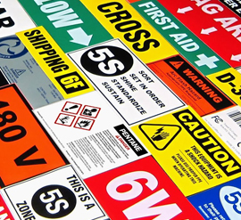 Industrial Product Labels