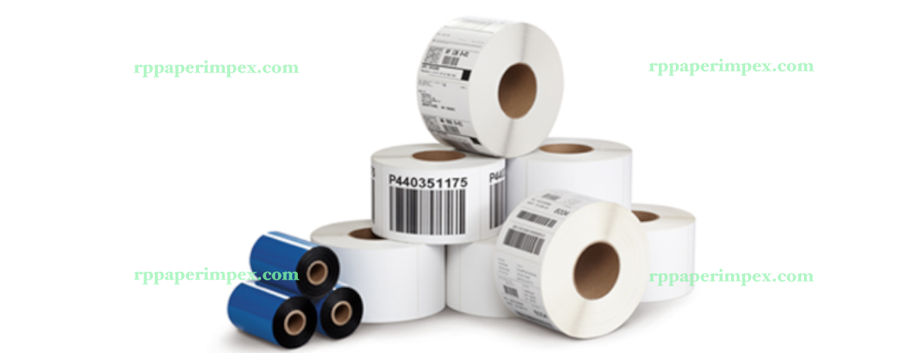 Thermal Transfer Label Rolls Customised Sizes