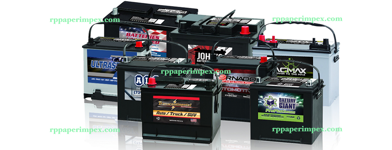 Battery Labels Stickers Manufacturer Exporter