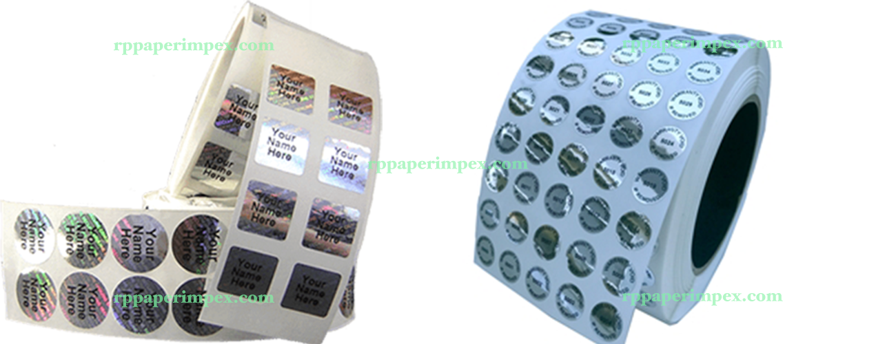 Hologram Cold Stamp Labels Stickers Printers Manufacturers Suppliers Customised