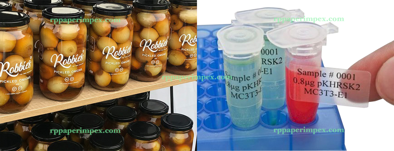 Transparent Clear Sticker Labels Suppliers India